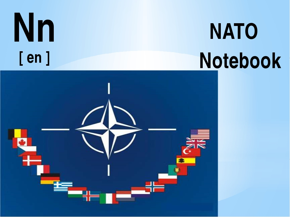 Nn [ en ] NATO Notebook
