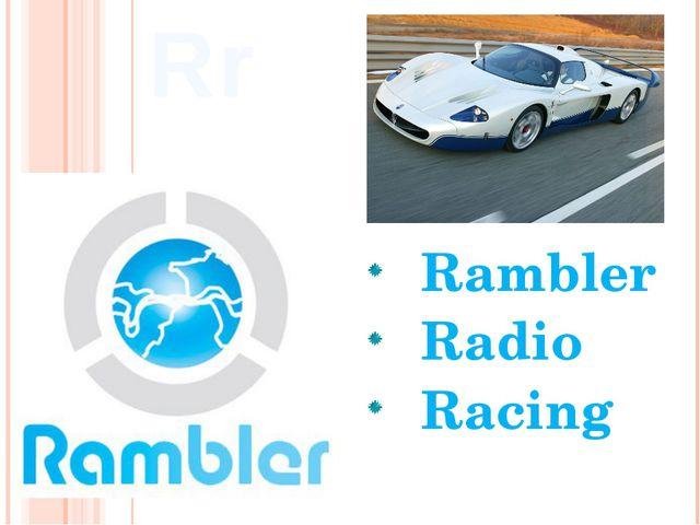 Rambler Radio Racing Rr
