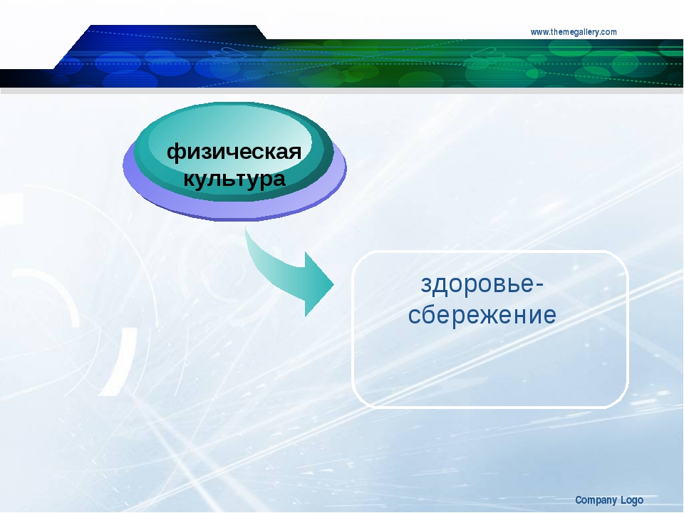 www.themegallery.com Company Logo физическая культура здоровье-сбережение Com...
