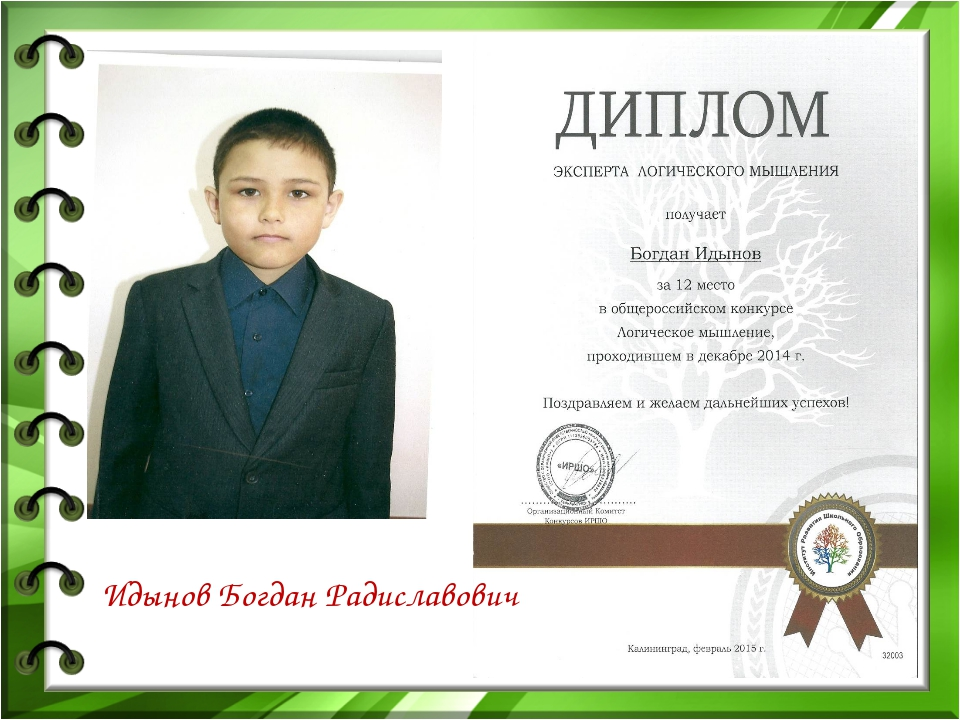 Идынов Богдан Радиславович