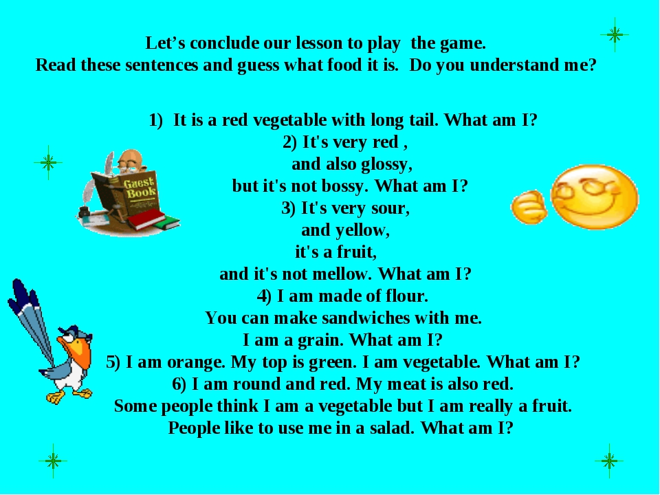 1) It is a red vegetable with long tail. What am I? 2) It's very red , and a...