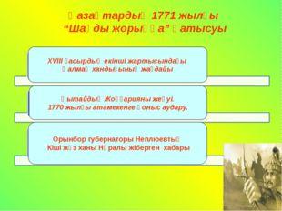 1628 жылы Жоңғариядан келген торғауыт және хошауыттардан тұратын ойраттар ода