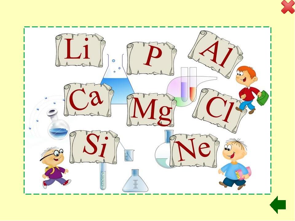 3 raund D.I.Mendeleýewiň periodik jedwelinde ýakyn ýerleşen elementleri belg...