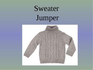 Sweater Jumper