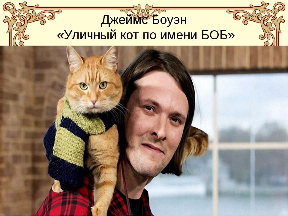 Джеймс Боуэн «Уличный кот по имени БОБ»