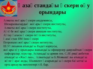Қазақстандағы әскери оқу орындары Алматы жоғары әскери академиясы, Шекарашыл