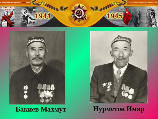 Бакиев Махмут Нурметов Имяр