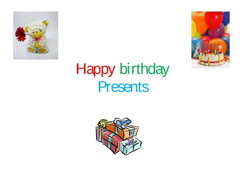 Happy birthday Presents