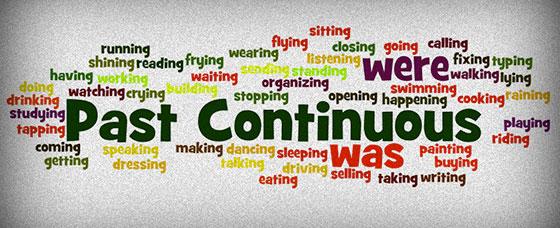 Употребление Past Continuous в английском языке