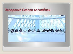 Заседание Сессии Ассамблеи