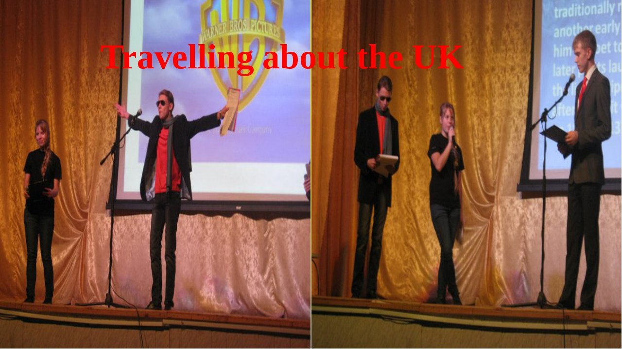 Travelling about the UK