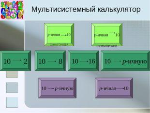 Мультисистемный калькулятор