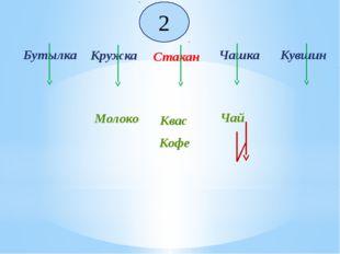 Бутылка Кружка Чашка Стакан Кувшин Кофе Чай Молоко 2 Квас