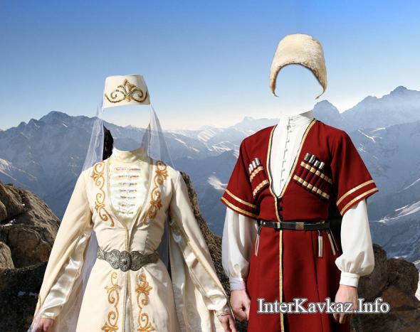 город национальные костюмы осетины картинки окружающий беларуси это белый