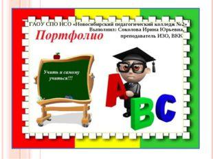 ГАОУ СПО НСО «Новосибирский педагогический колледж №2» Выполнил: Соколова Ири