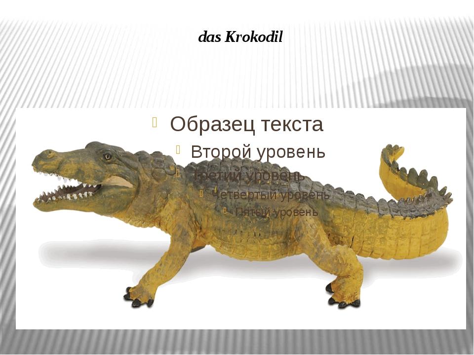 das Krokodil