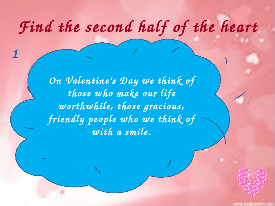 Find the second half of the heart My heart is no more mine… because it's your...