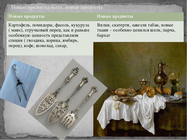 Новые предметы быта , новые продукты Новыепродукты Новые предметы Картофель,...