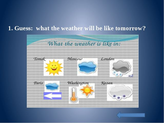 7. Which of these words will you choose to describe these seasons. Choose and...