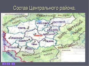 * Состав Центрального района.