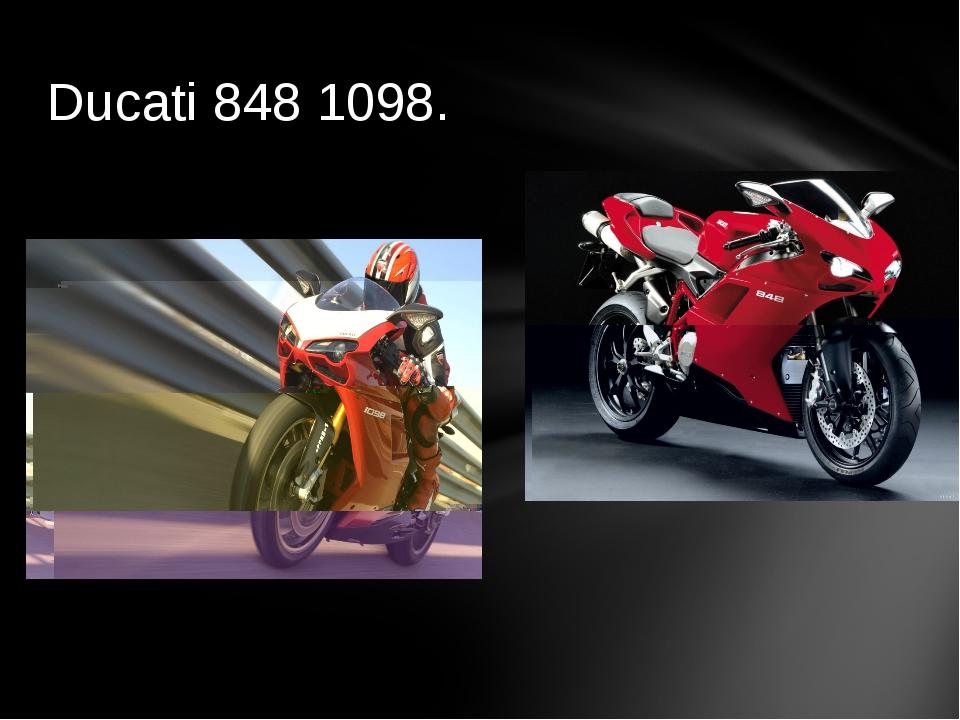 Ducati 848 1098.