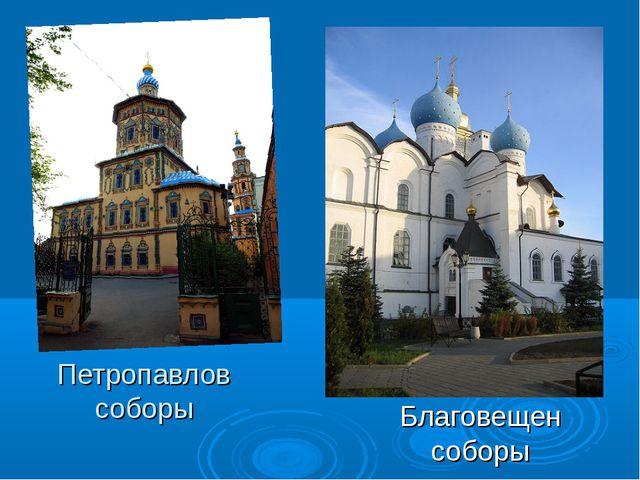 Петропавлов соборы Благовещен соборы