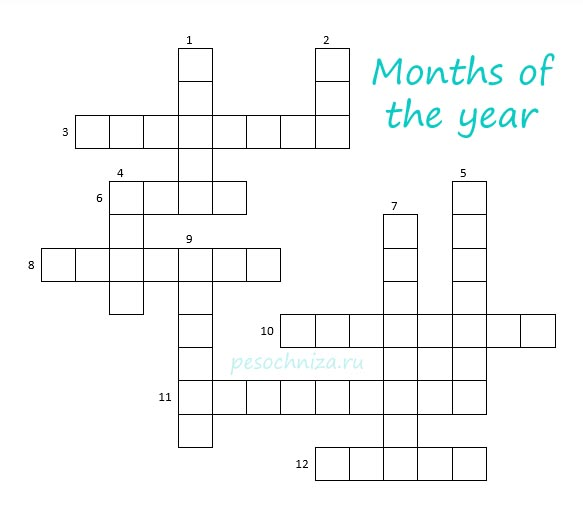 Months_of_the_year_crossword