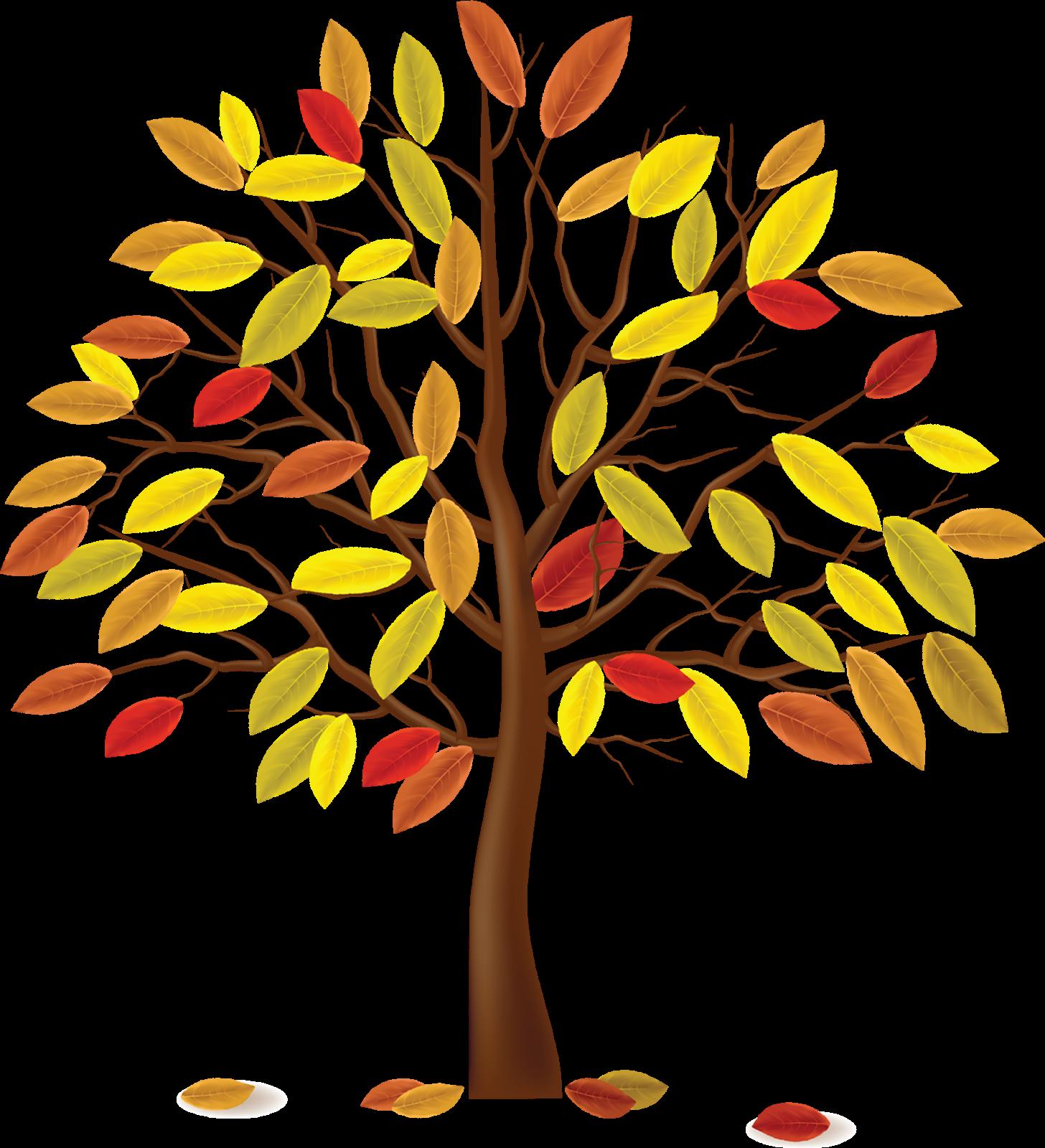 Дерево с осенними листьями картинка для детей, сделать небольшую открытку