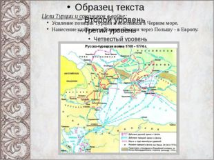 Цели Турции и союзников в войне: Усиление позиций Турции и союзников в Черном