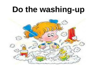 Do the washing-up