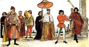 1 апреля - обычай от короля Англии и его свиты