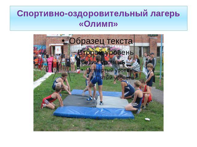 Спортивно-оздоровительный лагерь «Олимп»