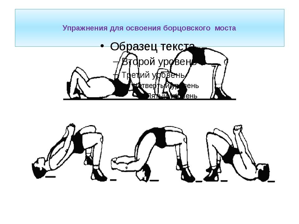 Упражнения для освоения борцовского моста