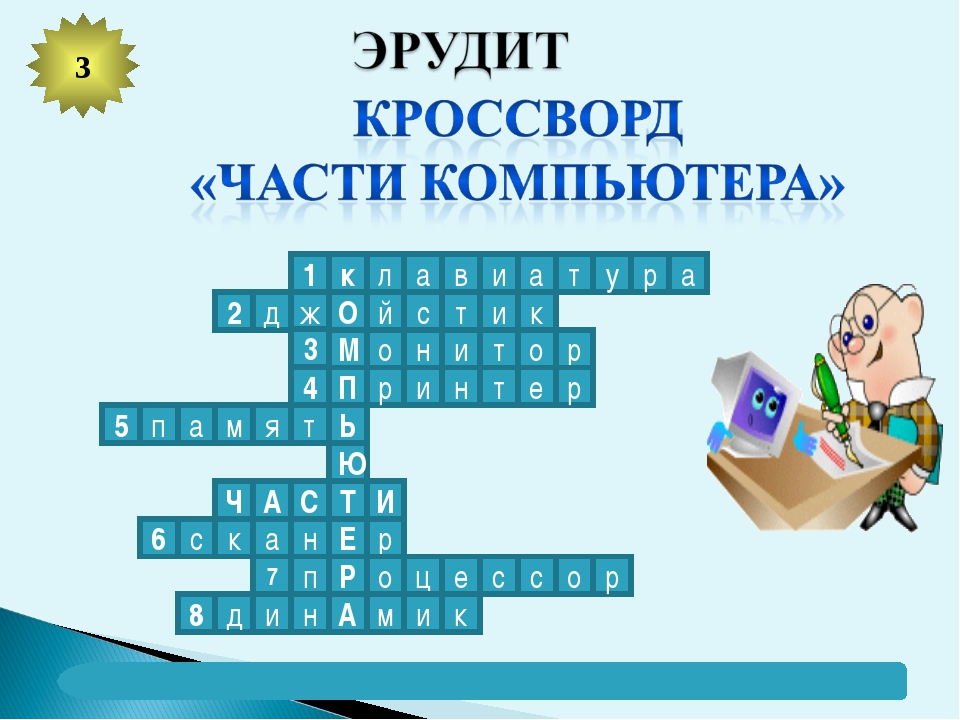 3 1 к л а в и а т у р а 2 к д ж О й с т и р о т и н о М 3 4 П р и н т е р Ь т...