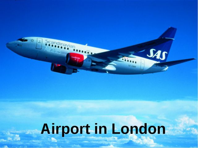 Airport in London