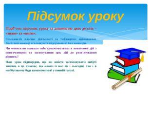 Підіб'ємо підсумок уроку за допомогою двох дієслів – «знаю» та «вмію». Самоан