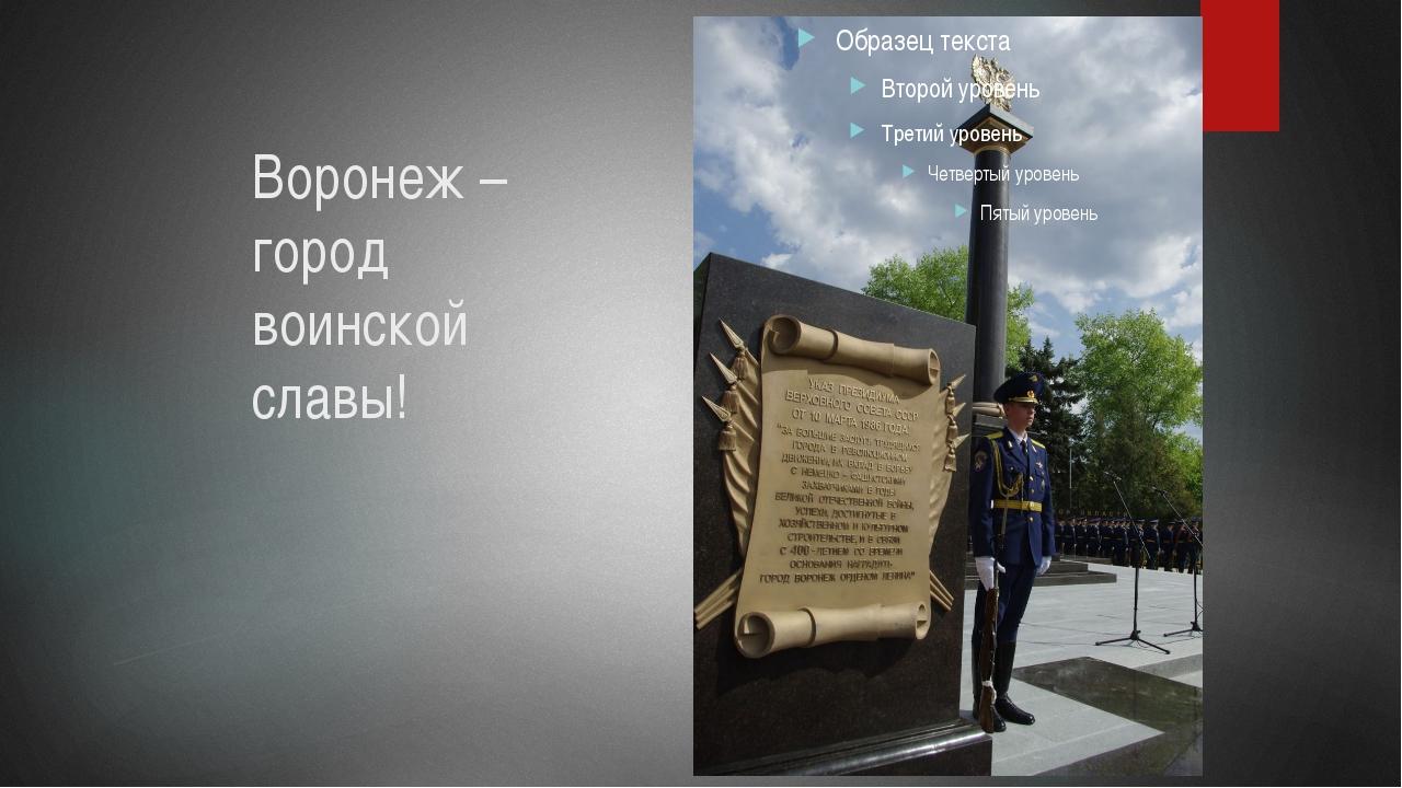 линия солнца воронеж город воинской славы доклад с фото почву рекомендуется внести