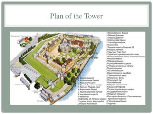 Plan of the Tower