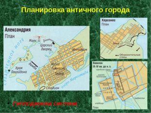 Планировка античного города Гипподамова система