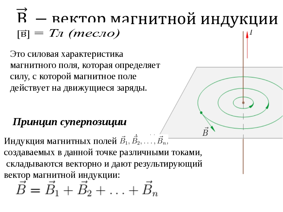 Это силовая характеристика магнитного поля, которая определяет силу, с которо...