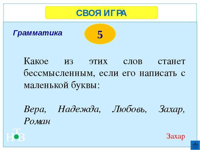СВОЯ ИГРА Н Т В 5 Да Верно ли утверждение: Россия расположена на материке Евр...