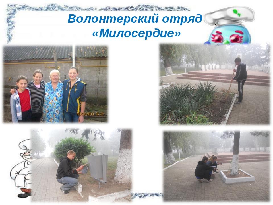 Волонтерский отряд «Милосердие»