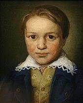 Портрет Бетховена (?) в 13-летнем возрасте, неизвестный боннский мастер (предположительно 1783 год)