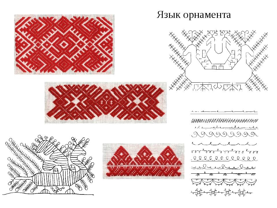 Язык орнамента