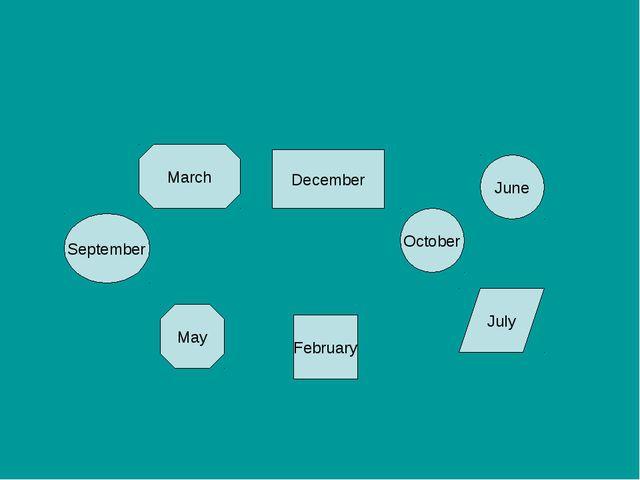 March February October May September December June July