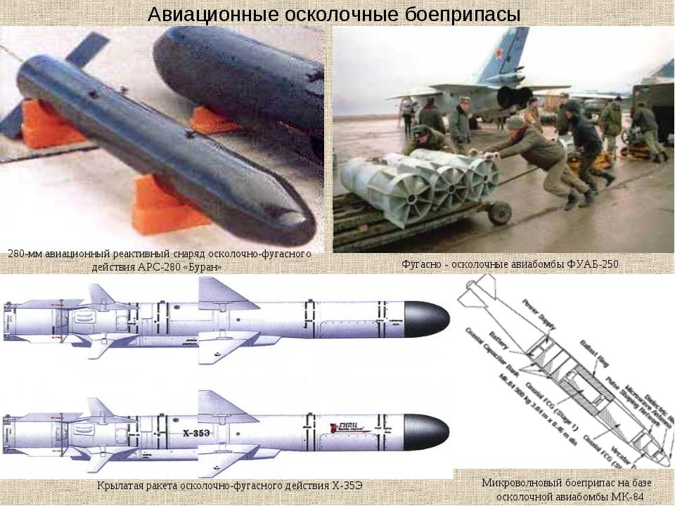 Авиационные осколочные боеприпасы 280-мм авиационный реактивный снаряд осколо...