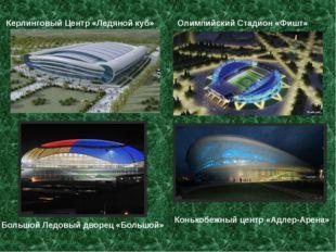 Керлинговый Центр «Ледяной куб» Олимпийский Стадион «Фишт» Большой Ледовый дв