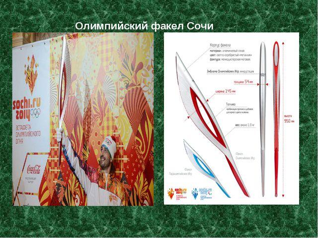Олимпийский факел Сочи