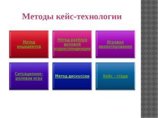 Методы кейс-технологии