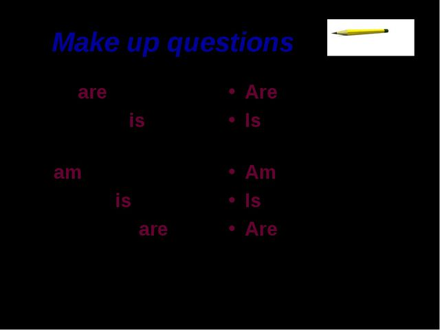 Make up questions We are pupils. This man is an engineer. I am eight. His dog...